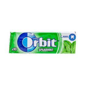 Gumă de mestecat Orbit Spearmint - 10buc