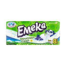 Hârtie igienică 3 straturi Emeka Mountain Fresh - 8role