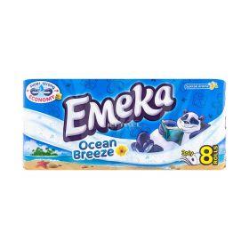 Hârtie igienică 3 straturi Emeka Ocean Breeze - 8role