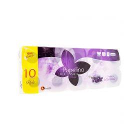 Hârtie igienică Papelino Lavandă 3 straturi - 10role