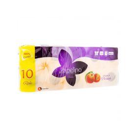 Hârtie igienică Papelino Piersică 3 straturi - 10role