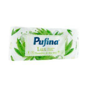 Hârtie igienică Pufina Lux Aloe Vera - 8role