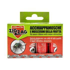 Hârtie pentru muște ZigZag - 4/set