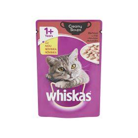 Hrană umedă pentru pisici Whiskas Creamy Soups cu vită - 85gr