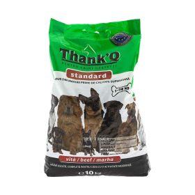 Hrană uscată cu vită pentru câini ThankQ - 10kg