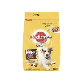 Hrană uscată pentru câini Pedigree Mini Adult cu pasăre - 400gr