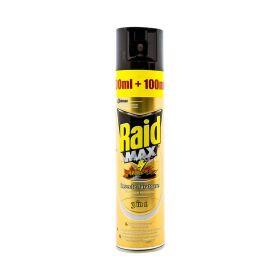 Insecticid spray Raid MAX împotriva insectelor tărătoare - 400ml