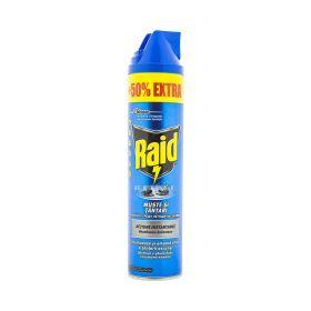Insecticid Spray Raid pentru muște și țânțari - 600ml