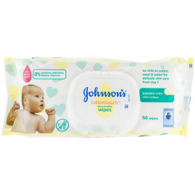 Johnsons Baby Extra Sensitive șervețele umede pentru bebeluși -  56buc