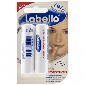 Labello-balsam de buze 2x4,8g med protection