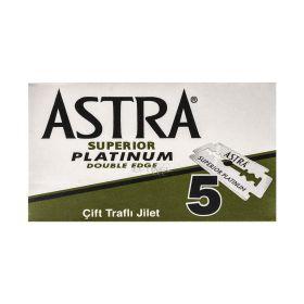Lamă de ras Astra Platinum - 5buc