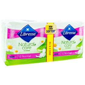 Libresse Natural Care Ultra Normal absorbante igienice - 2x10buc