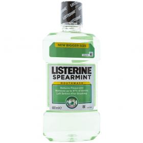 Listerine Spearmint apă de gură - 600ml