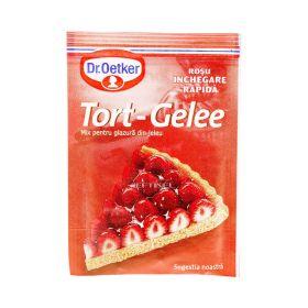 Mix pentru glazură din jeleu Dr. Oetker Tort - Gelee Roșu - 8gr
