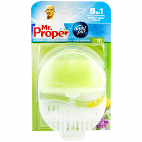 Mr. Proper Fresh Gardens 5in1 odorizant pentru vasul de toaletă - 55ml