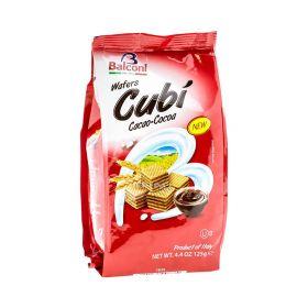 Napolitane Balconi Cubi cu cremă de cacao - 125gr