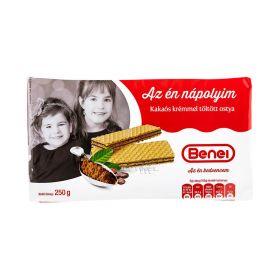 Napolitane Benei cu cremă de cacao - 250gr