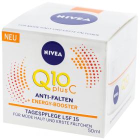 Nivea-crema 50ml pt.fata Q10+C LSF15