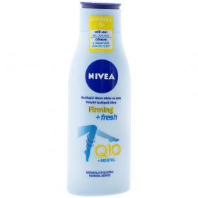 Nivea Firming + Fresh loțiune hidratantă pentru picioare Q10+Mentol - 200ml