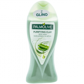 Gel de duș exfoliant pentru femei Palmolive Purifying Clay - 250ml