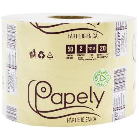 Papely NATUR hârtie igienică - 1rolă