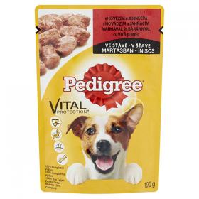 Pedigree Adult hrană umedă cu vită și miel pentru câini - 100gr