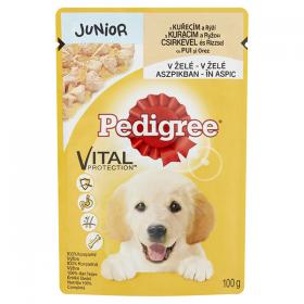 Pedigree JR hrană umedă cu pui și orez/legume pentru cățeluși - 100gr