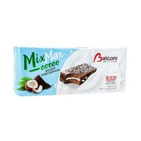 Prăjitură Balconi Mix Max Cocco cu cremă de cocos - 10x35gr