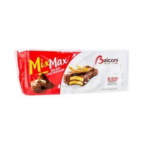 Prăjitură Balconi Mix Max cu cremă de ciocolata - 10x35gr