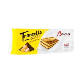 Prăjitură Balconi Snack Trancetto Cacao cu cremă de cacao - 10x28gr