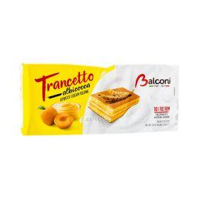 Prăjitură Balconi Snack Trancetto cu cremă de caise - 10x28gr