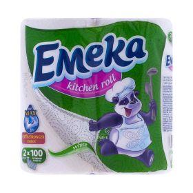 Prosop de bucătărie Emeka White 3 straturi - 2role