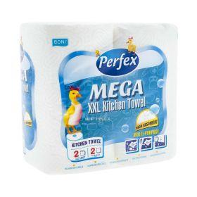 Prosop de hârtie Perfex Mega XXL 2 straturi - 2role