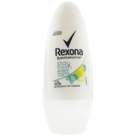 Rexona Stay Fresh Blue Poppy deodorant roll-on pentru femei - 50ml