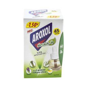 Rezervă lichidă împotriva țânțarilor Aroxol Natural4 22.5ml - 1buc
