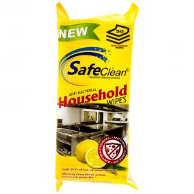 Soft Clean Care șervețele umede antibacteriene pentru bucătărie - 50buc