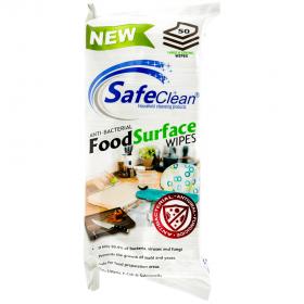SafeClean șervețele umede antibacteriene pentru suprafețele din bucătărie - 50 buc.