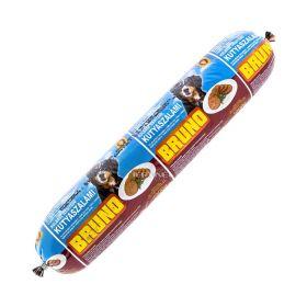Salam cu gust de cârnați pentru câini Bruno - 1kg