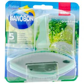 Sano-Bon Green Forest odorizant pentru vasul de toaletă - 55g
