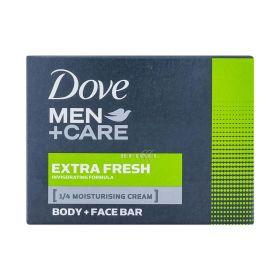 Săpun de toaletă pentru bărbați Dove MEN+Care Extra Fresh - 90gr