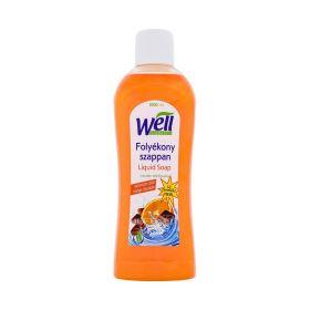 Săpun lichid Well cu parfum de portocale și ciocolată - 1L