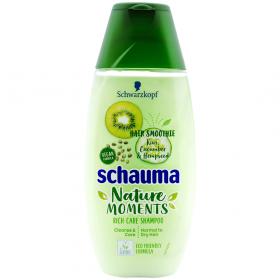 Schauma Nature Moments Kiwi Cucumber and Hempseed șampon pentru păr normal și uscat - 250ml