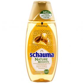 Schauma Nature Moments Marokkanisches Arganöl șampon pentru păr uscat și deteriorat - 250ml