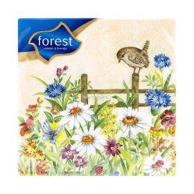 Șervețele de masă 1 strat Forest Paști - 20buc