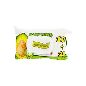 Șervețele umede Spring Line cu ulei de avocado - 120buc