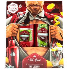 Set cadou pentru bărbați Old Spice Citron - 1 buc deodorant stick 50ml + 1 buc gel de duș 2in1 250ml