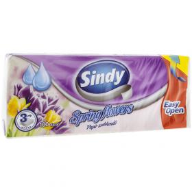 Sindy Spring Flowers batistuțe de hârtie 3 straturi - 100buc
