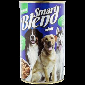 Smart Blend conservă pentru câini cu carne de vânat -1240g