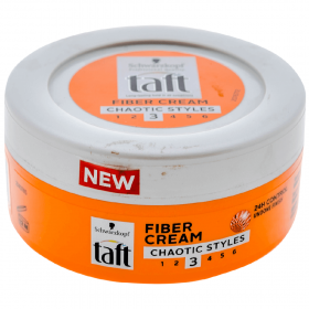 Taft r3 Fiber Cream Chaotic gel de păr - 150ml