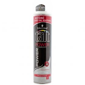 Taft POWER Mega Stark 5 lac fixativ pentru păr - 400ml